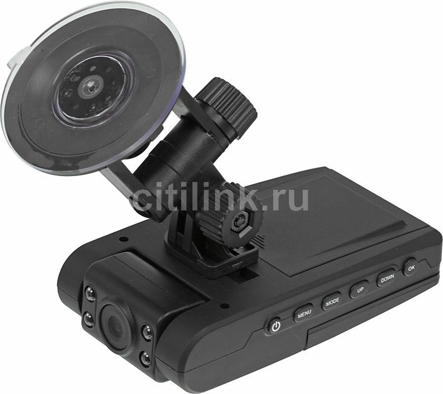 Видеорегистратор SUPRA SCR-430 черный
