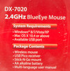 Мышь GENIUS DX-7020 оптическая беспроводная USB, черный и оранжевый [31030075103] вид 11