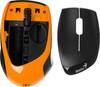 Мышь GENIUS DX-7020 оптическая беспроводная USB, черный и оранжевый [31030075103] вид 7