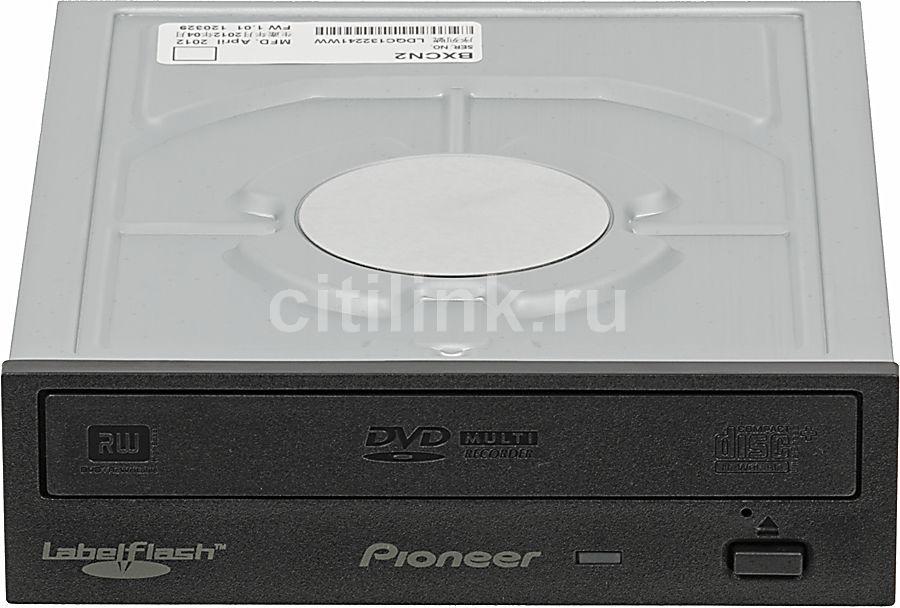 Оптический привод DVD-RW PIONEER DVR-S20LBK, внутренний, SATA, черный,  Ret