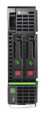 Сервер HPE ProLiant BL460c Gen8 1xE5-2609 4x4Gb x2 2.5