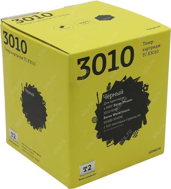 Картридж T2 106R02183 черный [tc-x3010]