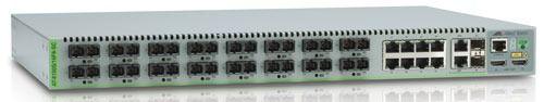 Коммутатор Allied Telesis (AT-8100S/16F8-SC-50) 16 x 100FX (SC) & 8 x 10/100TX.