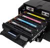 Принтер HP Color LaserJet Pro M251nw лазерный, цвет:  черный [cf147a] вид 7
