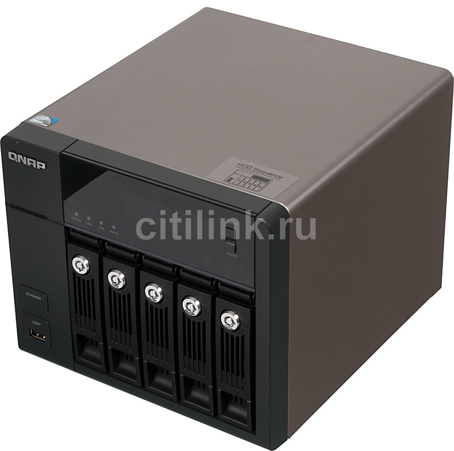 Сетевое хранилище QNAP TS-569 Pro,  без дисков