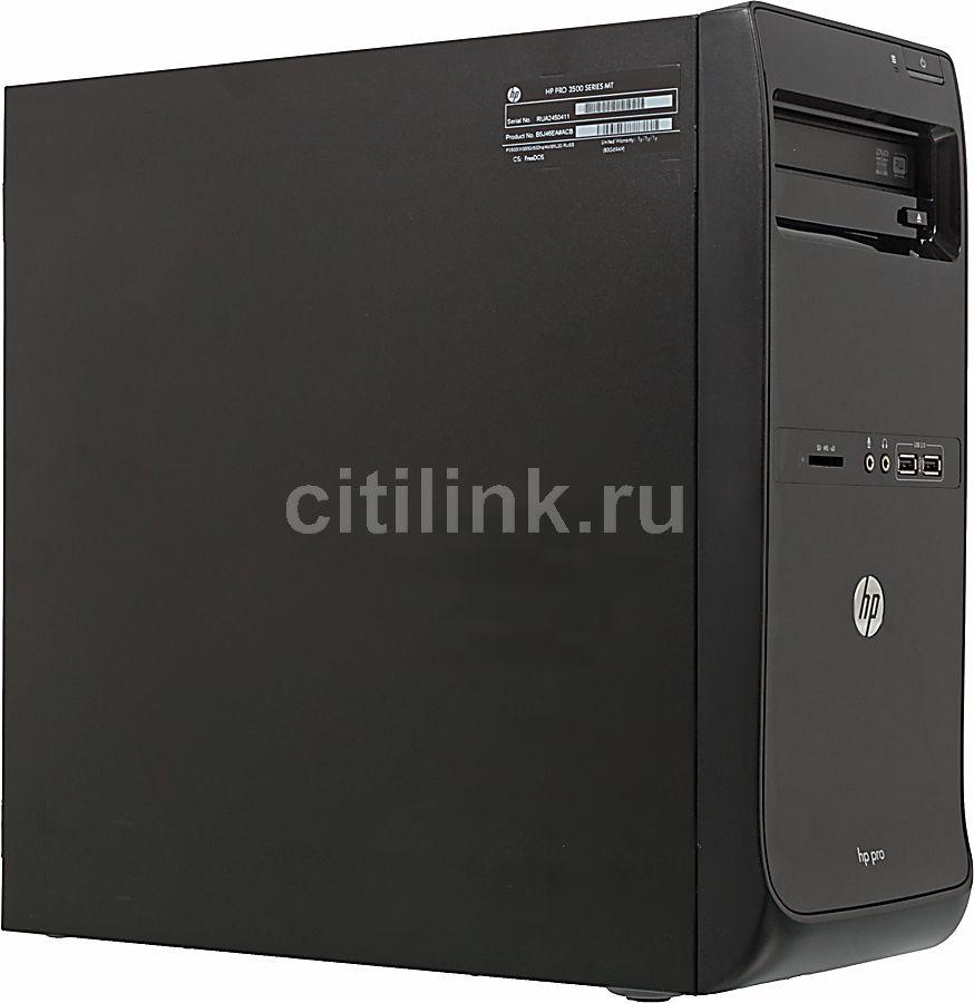 Компьютер  HP Pro 3500 MT,  Intel  Core i3  3220,  DDR3 4Гб, 1Тб,  Intel HD Graphics,  DVD-RW,  CR,  Windows 7 Professional,  черный [c5x64ea]