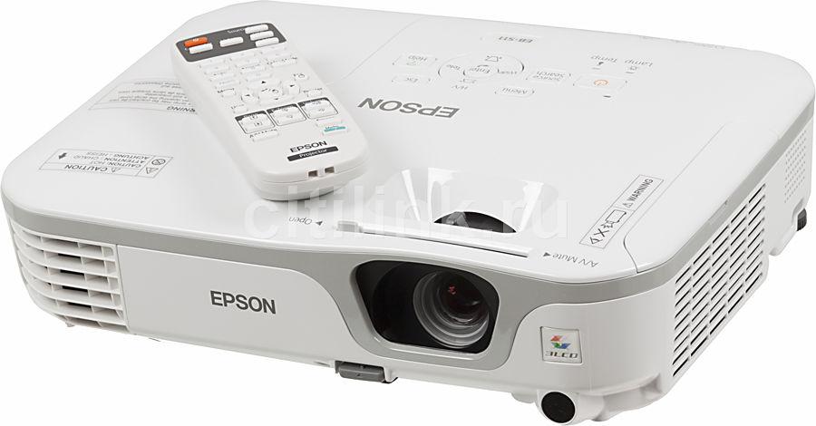 Проектор EPSON EB-S11 белый [v11h436040]