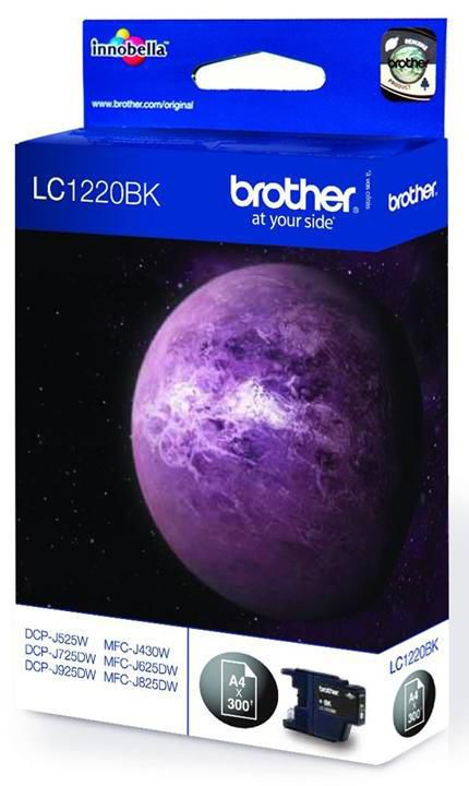 Картридж BROTHER LC1220BK черный