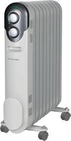 Масляный радиатор ELECTROLUX EOH/M-1209, 2000Вт, белый