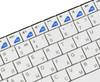 Клавиатура RAPOO E2700 Smart TV,  USB, Радиоканал, белый + серебристый [11313] вид 6