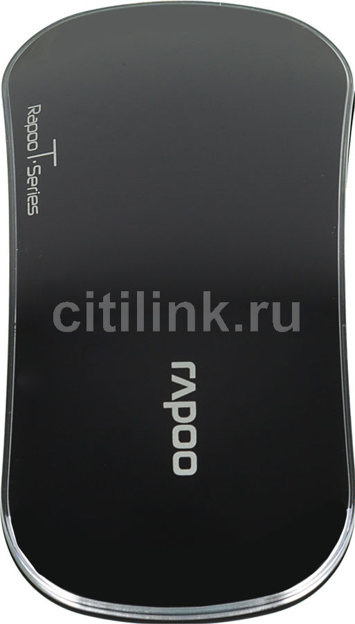 Мышь RAPOO T6 оптическая беспроводная USB, черный [10683]