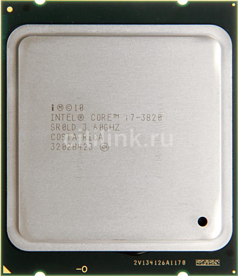Процессор INTEL Core i7 3820, LGA 2011 OEM [cpu intel lga2011 i7-3820 oem]