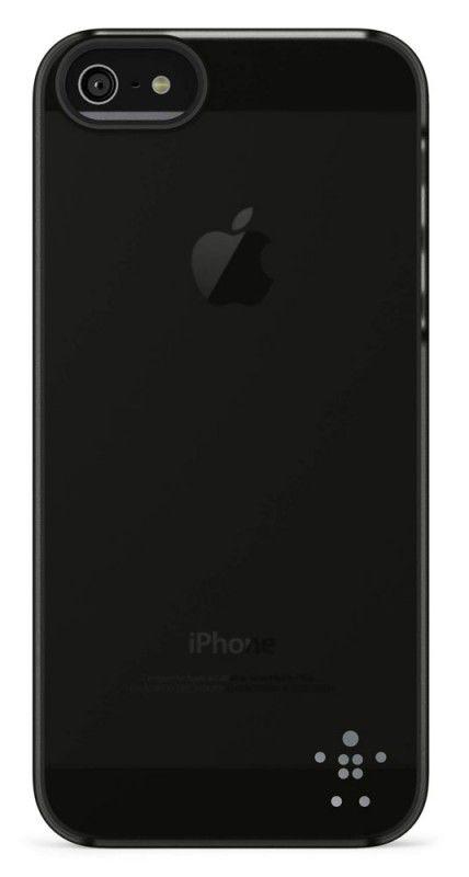 Чехол (клип-кейс) BELKIN F8W162vfC00, для Apple iPhone 5, черный
