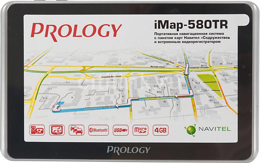 GPS навигатор PROLOGY iMAP-580TR,  5