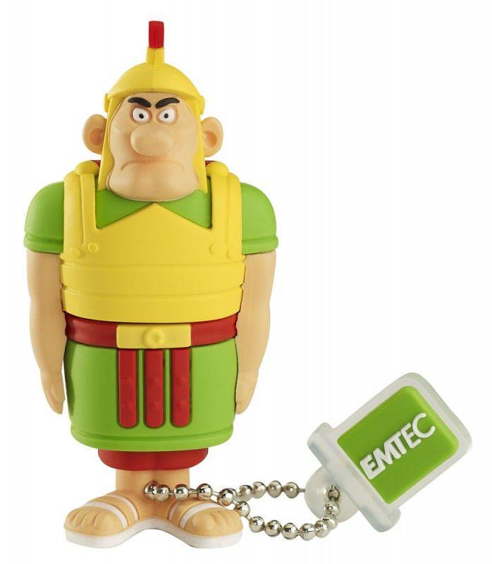 Флешка USB EMTEC AS103 Romano 4Гб, USB2.0, желтый и зеленый [ekmmd4gas103]