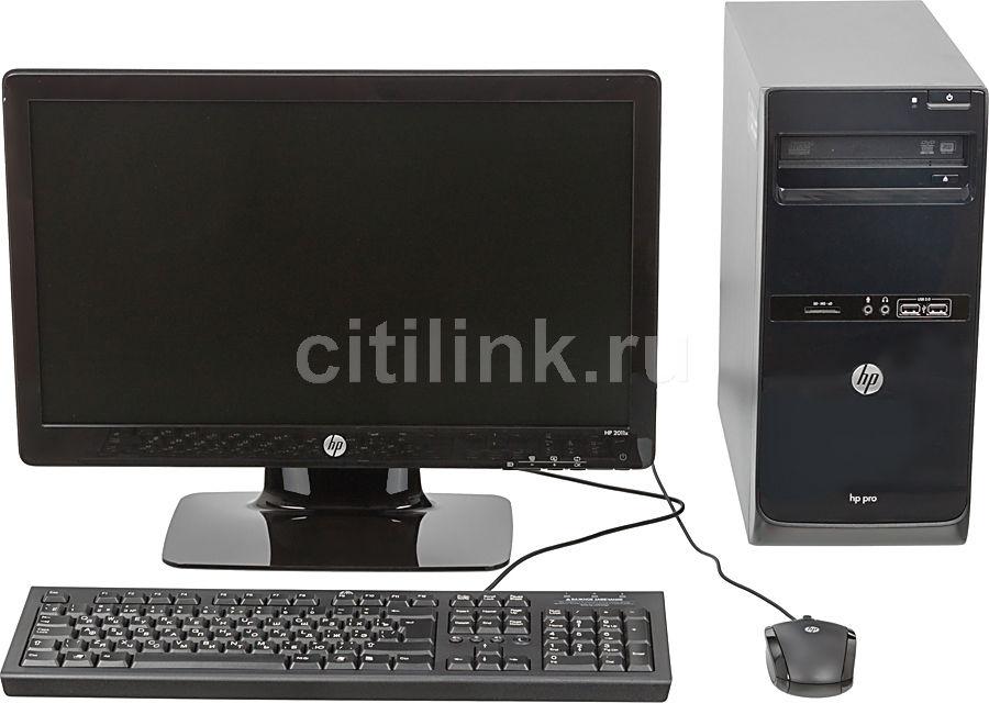 Компьютер  HP Pro 3500 MT + монитор 2011x (комплект),  Intel  Core i3  3220,  DDR3 4Гб, 500Гб,  Intel HD Graphics 2500,  DVD-RW,  CR,  Windows 8 Professional,  черный [b5j43ea]