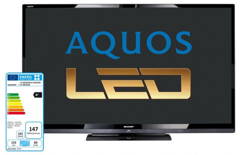LED телевизор SHARP Aquos LC-60LE635RU