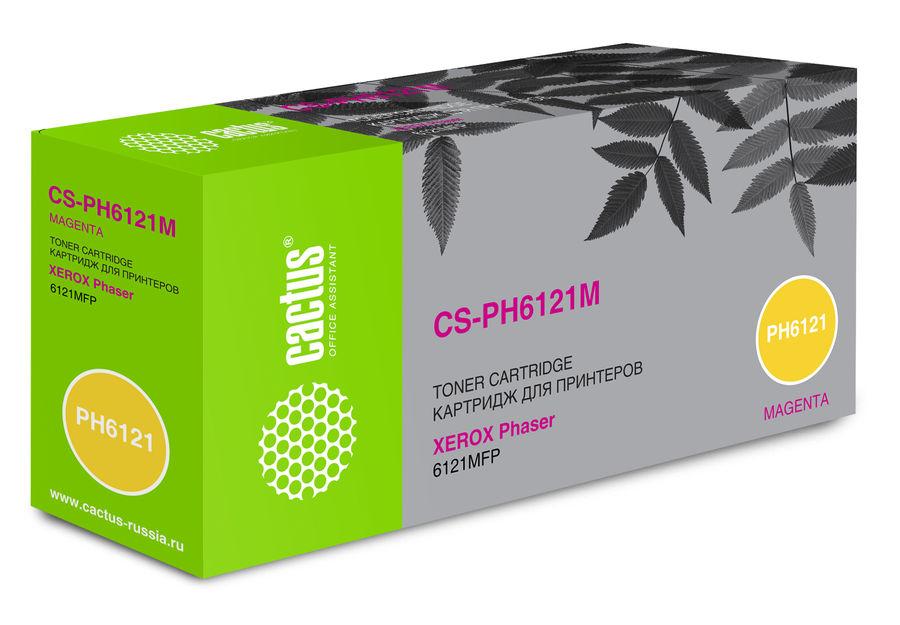 Картридж CACTUS CS-PH6121M пурпурный