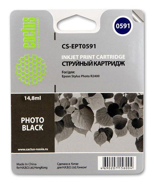 Картридж CACTUS CS-EPT0591 черный