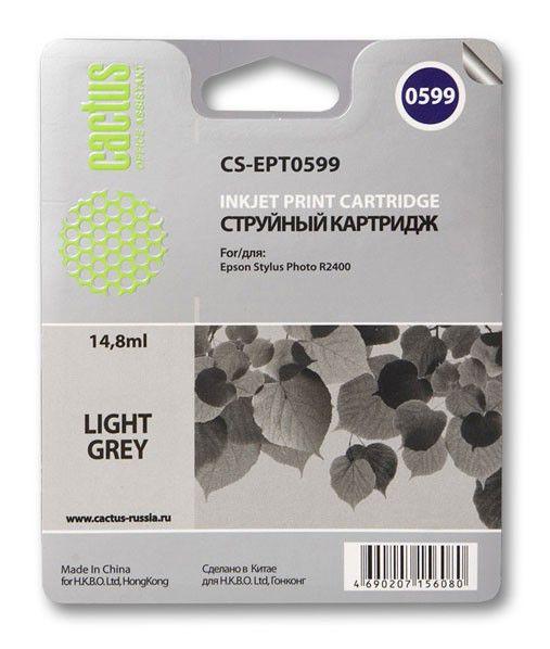 Картридж CACTUS CS-EPT0599 светло-серый