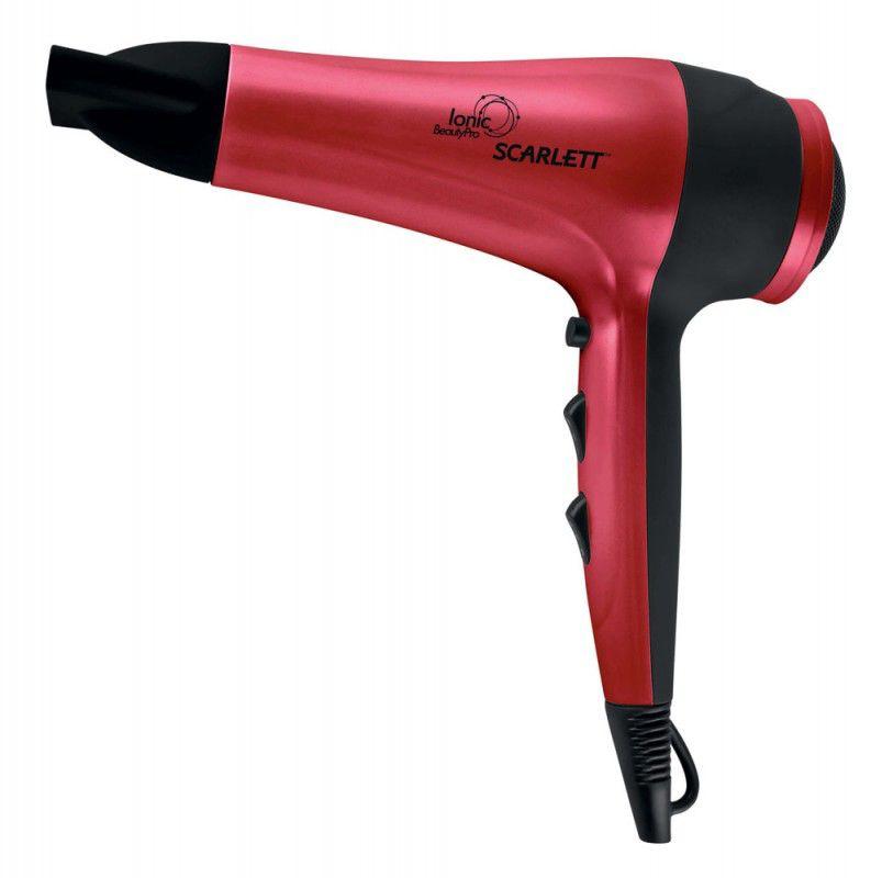 Фен SCARLETT SC-1078, 2200Вт, красный