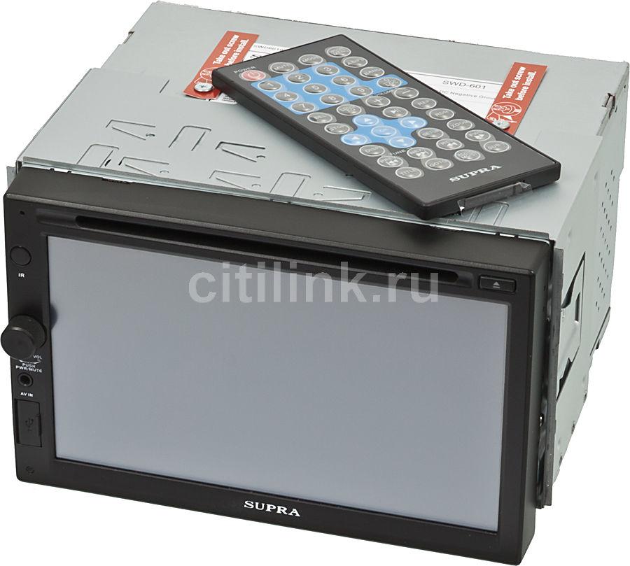Автомагнитола SUPRA SWD-601,  USB,  SD/MMC