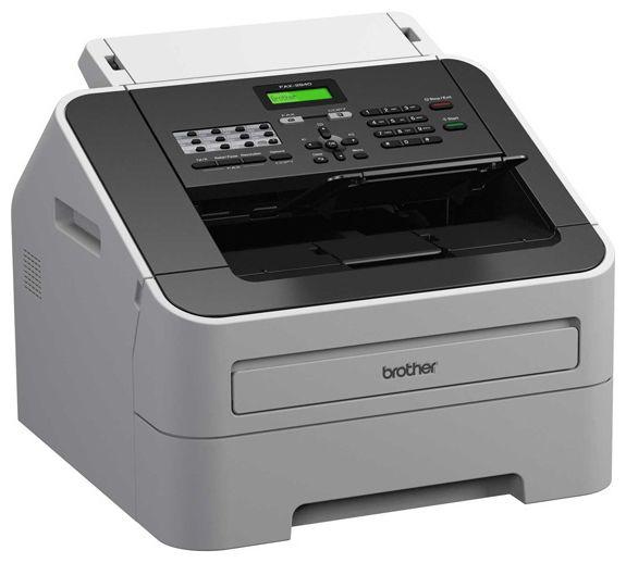 МФУ BROTHER FAX-2940R,  A4,  лазерный,  белый [fax2940r1]