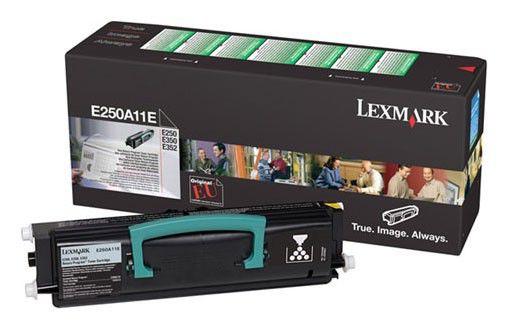 Картридж LEXMARK E250A11E черный