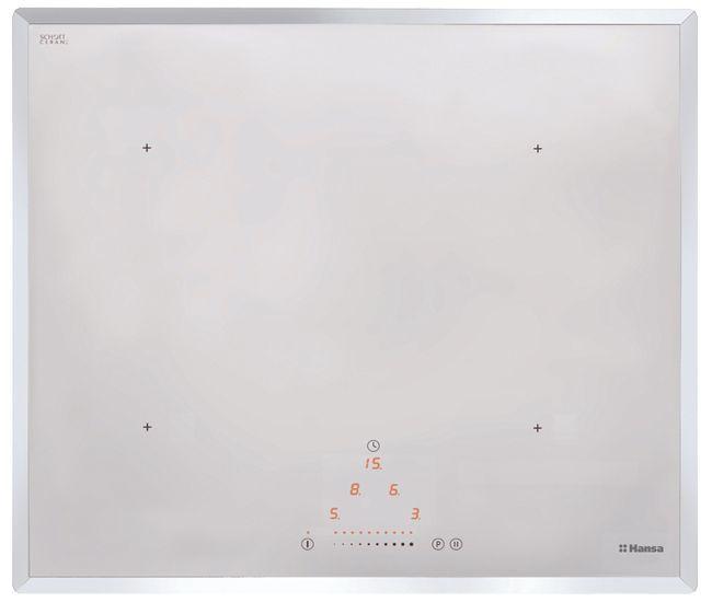 Варочная панель HANSA BHIW68303,  индукционная,  независимая,  белый