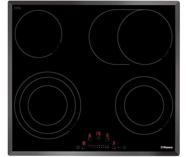 Варочная панель HANSA BHC63906,  Hi-Light,  независимая,  черный
