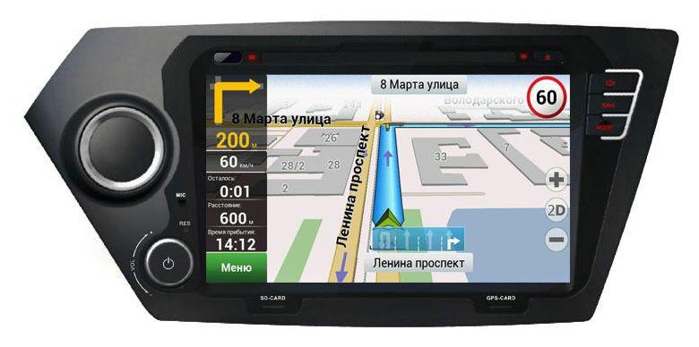 Автомагнитола VELAS V-KRG,  KIA Rio (2011+),  USB,  SD