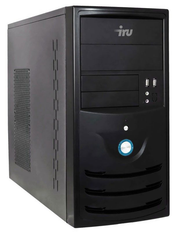 Компьютер  IRU Corp 320,  AMD  Athlon II X4  640,  DDR3 4Гб, 500Гб,  ATI Radeon HD 3000,  DVD-RW,  Windows 7 Professional,  черный