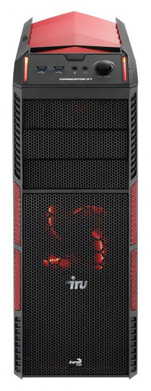 Компьютер  IRU Home 710,  Intel  Core i7  3770,  DDR3 8Гб, 1Тб,  nVIDIA GeForce GTX 660 - 2048 Мб,  DVD-RW,  Windows 8,  черный и красный