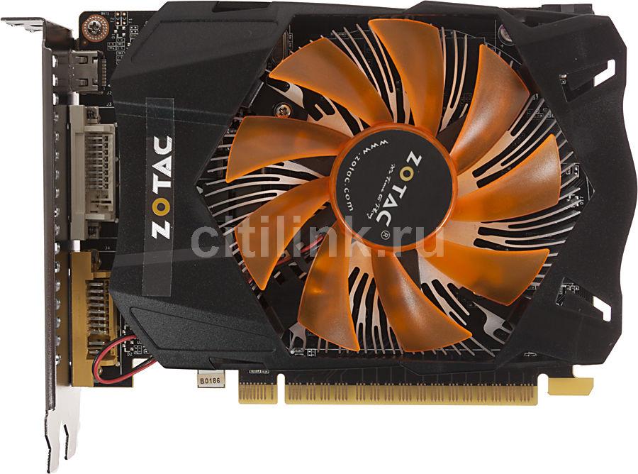 Видеокарта ZOTAC GeForce GTX 650,  1Гб, GDDR5, Ret [zt-61006-10m]