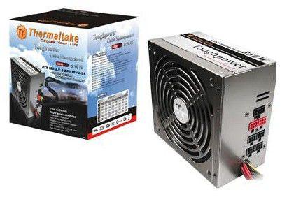 Блок питания THERMALTAKE Toughpower W0131RE,  850Вт,  140мм,  черный, retail