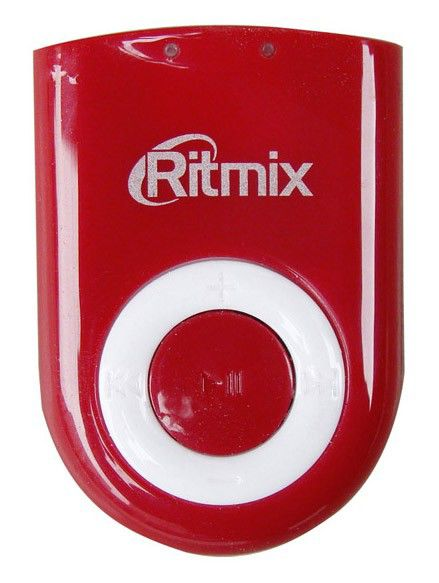 MP3 плеер RITMIX RF-2300 flash 4Гб красный [rf-2300 red]