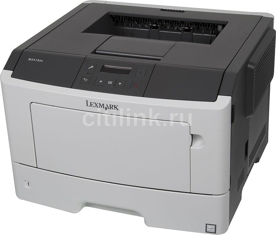 Принтер LEXMARK MS410DN (35S0230) лазерный, цвет:  белый