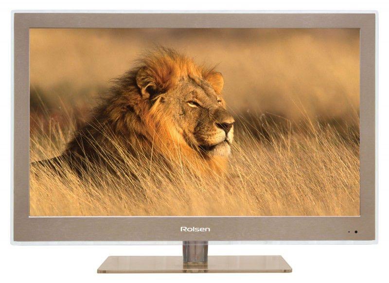 "LED телевизор ROLSEN RL-19L1005UBR  ""R"", 19"", HD READY (720p),  коричневый"