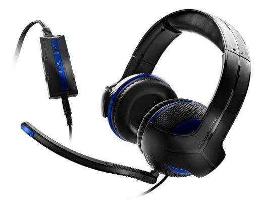 Наушники с микрофоном THRUSTMASTER Y-250P,  мониторы, черный  / синий [y250 p]