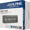 Автомагнитола ALPINE CDE-131R,  USB вид 6
