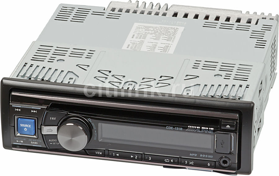 Автомагнитола ALPINE CDE-131R,  USB