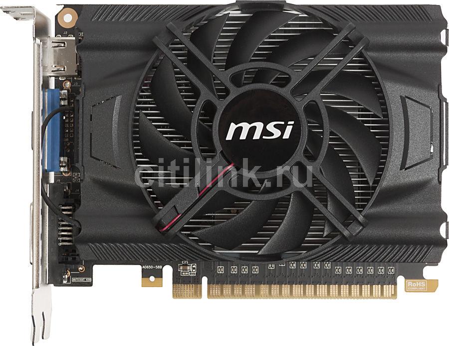 Видеокарта MSI GeForce GTX 650,  N650-2GD5/OC,  2Гб, GDDR5, OC,  Ret