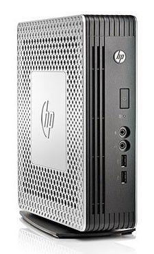 Тонкий клиент  HP t610,  AMD  T56N,  DDR3 4Гб, 16Гб(SSD),  AMD FirePro 2270,  без ODD,  Windows Embedded Standard 7,  серебристый и черный [b8d10aa]