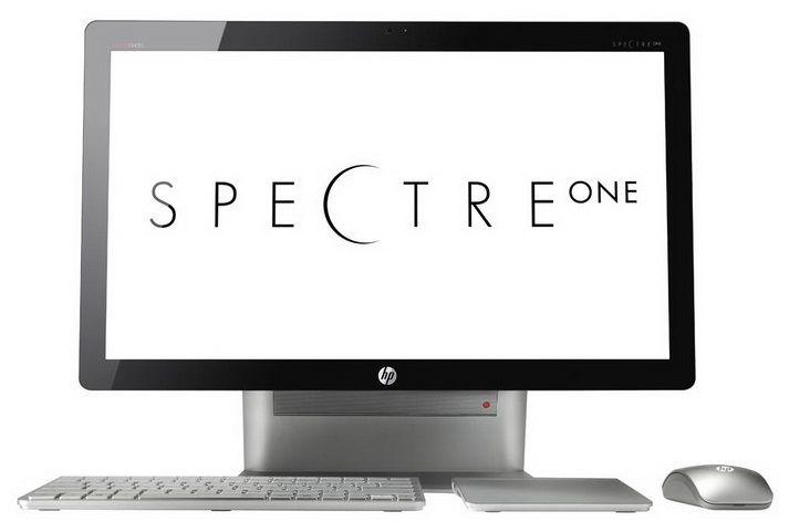 Моноблок HP Spectre One 23-e000er, Intel Core i5 3470T, 4Гб, 1000Гб, nVIDIA GeForce 610M - 1024 Мб, Windows 8, черный и серебристый [c3t11ea]