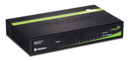 Коммутатор TRENDNET TEG-S80DG, TEG-S80DG