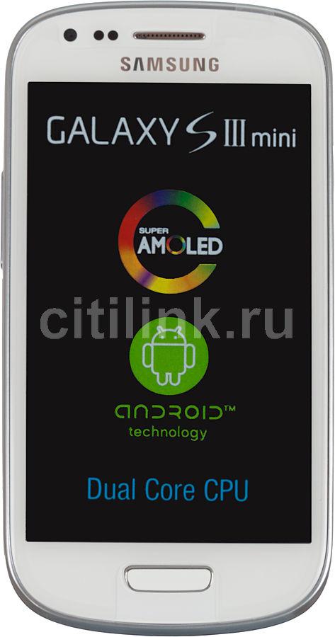 Смартфон SAMSUNG Galaxy S III mini GT-I8190  8Gb, белый