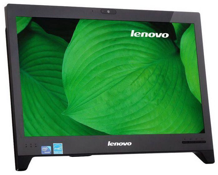 Моноблок LENOVO C240, Intel Celeron 847, 4Гб, 500Гб, Intel HD Graphics, DVD-RW, Free DOS, черный [57310894]