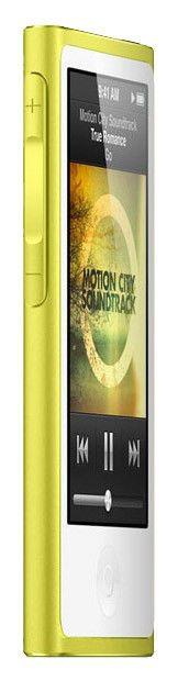 MP3 плеер APPLE iPod nano 7 flash 16Гб желтый [md476]
