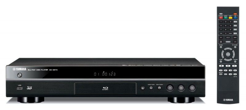 Плеер Blu-ray YAMAHA BD-S673, черный [abds673bf]