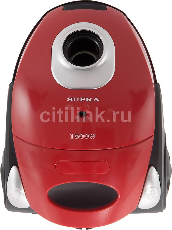 Пылесос SUPRA VCS-1530, 1500Вт, красный
